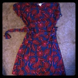 Cute blue and red dress